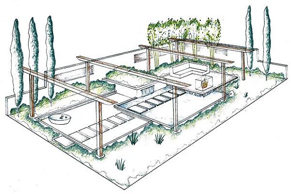 tuin goedkoop inrichten