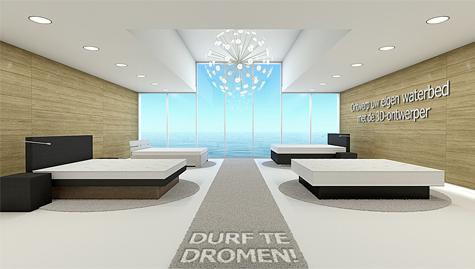 Een waterbed ontwerpen voor je eigen slaapkamer for Je eigen slaapkamer ontwerpen