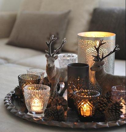 Kerst interieur 10 tips voor een fijne kerstsfeer in je woonkamer - Salon decoratie ideeen ...