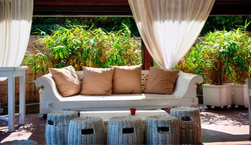 Loungen in de tuin doe je zo - Ideeen kleuren lounge ...