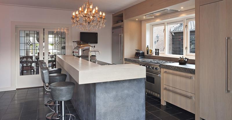 Sfeervolle keuken 8 tips om dat te realiseren interieur ideeen - Lounge en keuken in dezelfde kamer ...