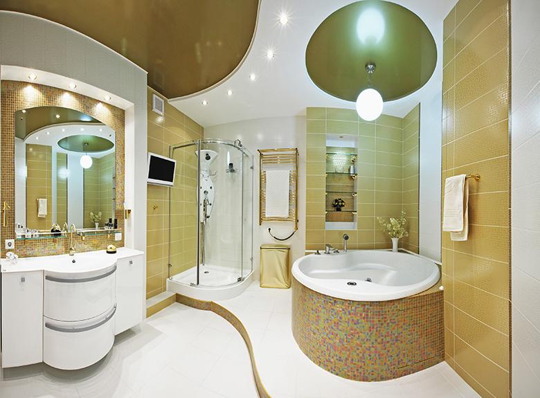 stijlvol badkamerinterieur