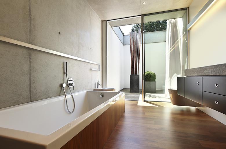 badkamer verbouwen en sanitair aanleggen, Badkamer