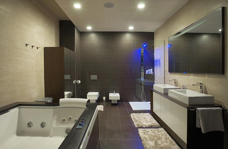 Badkamer voorbeelden zwart wit 22 badkamer foto 39 s - Spa ontwerp ...