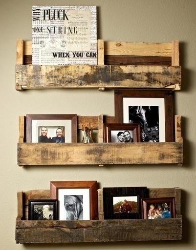 DIY interieur ideeen: boekenkasten, wanddecoratie en pallets