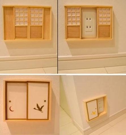 creatief stopcontact