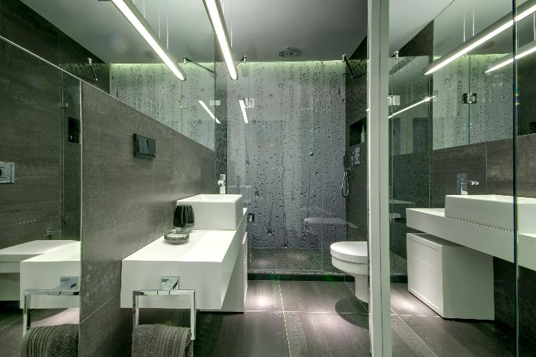 Badkamer Ideeen Tegels : Badkamer grote tegels inspiratie voorbeelden
