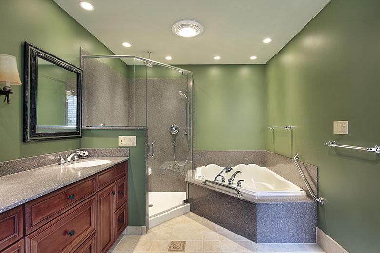 Badkamer voorbeelden inloopdouche
