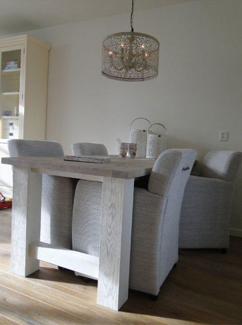 Interieur advies witte woonkamer for Advies interieur