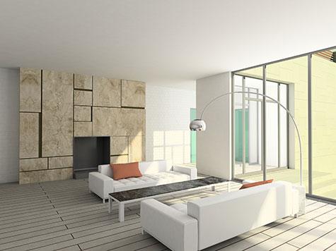 Moderne woonkamer voorbeelden inrichting en kleuren for Interieur voorbeelden