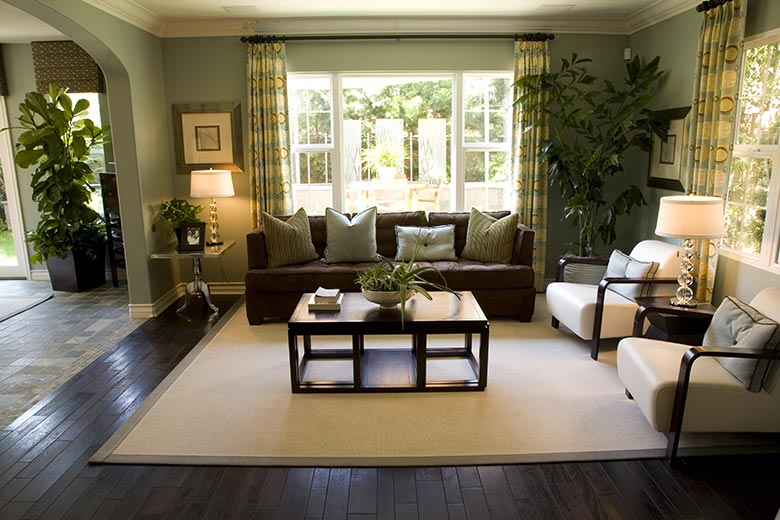 Je woonkamer inrichten is leuk met deze creatieve tips - Lounge warme kleur ...