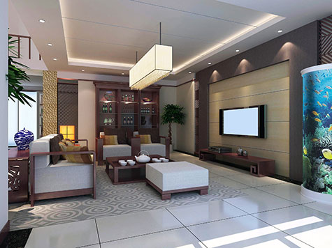 Woonkamer groen inspiratie - Interieur inrichting moderne woonkamer ...