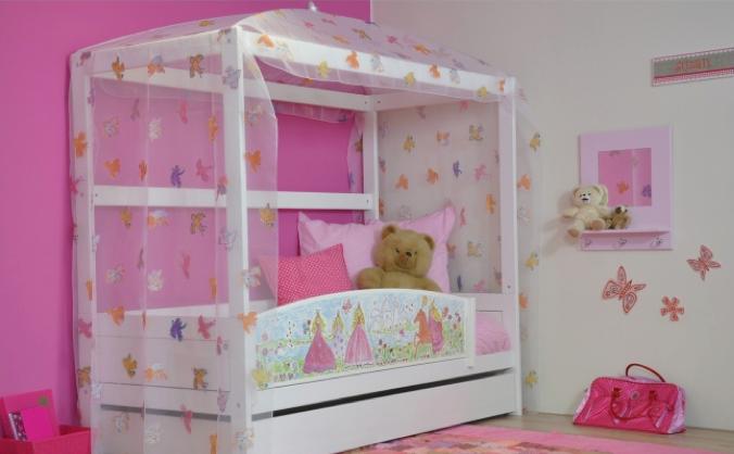 Interieur ideeen kinderslaapkamers - Slaapkamer van een meisje ...