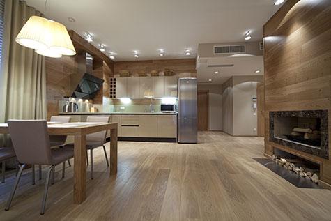 Moderne woonkamer voorbeelden inrichting en kleuren - Decoratie interieur bois ...