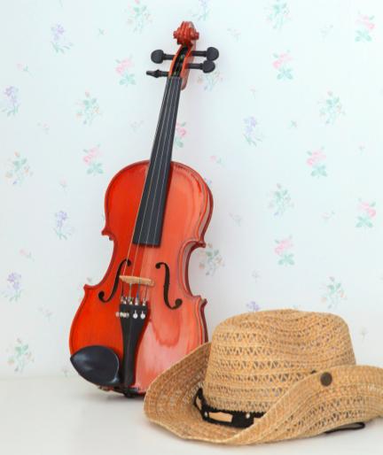 muziek in woonkamer