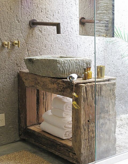 amazing badkamer natuurlijke materialen good dit is een blijvertje want nu with natuurlijke materialen