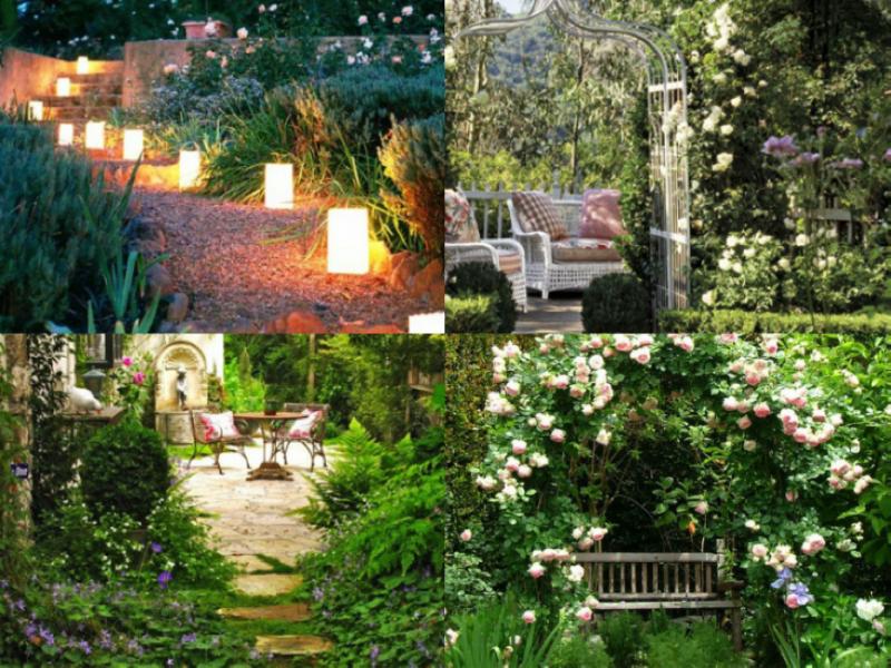 8 tips om een kleine tuin groter te laten lijken for Ideeen voor tuin