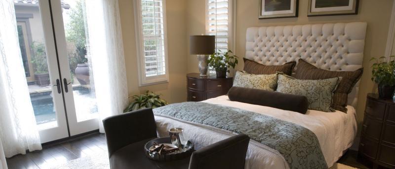 Slaapkamer Ideeen Met Behang : Bepalende elementen bij je slaapkamer ...