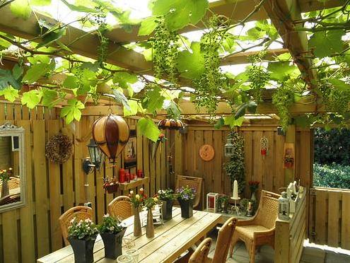 Tuin ideeen om je tuin de beste plek van je huis te maken - Deco voor terras ...