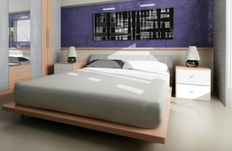 koofje of plankje boven bed
