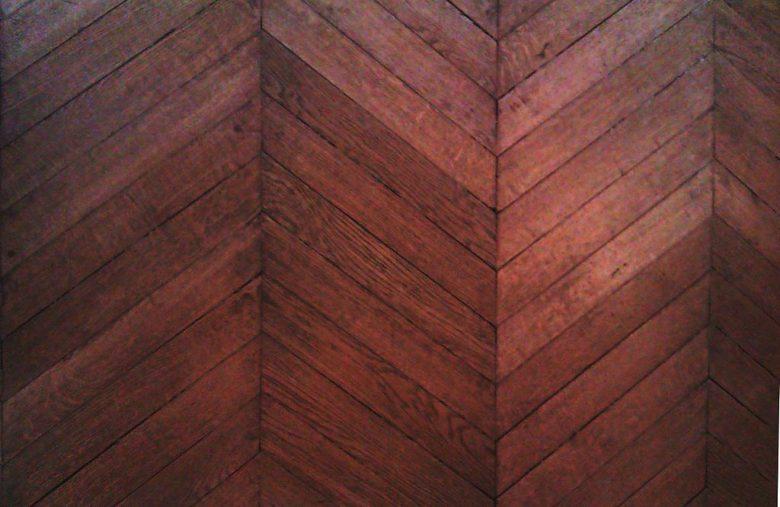houten vloer hongaarse punt legpatroon
