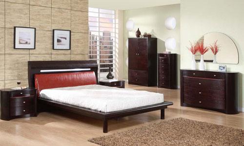 Slaapkamer inrichten - klassiek en donkere meubels