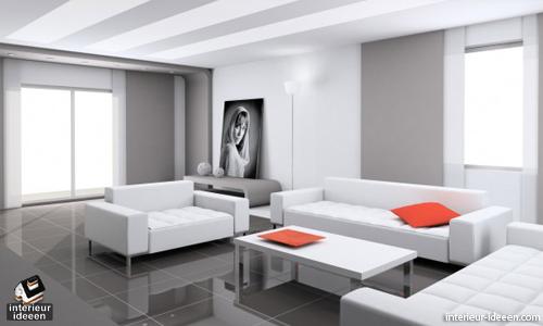 Witte woonkamer 2