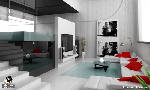 Witte woonkamer 3