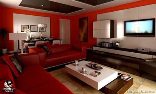 rode woonkamer voorbeeld 6