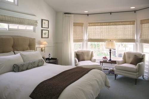 luxe slaapkamer ruimtelijk