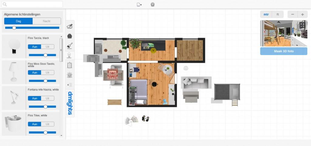 zelf huis inrichten
