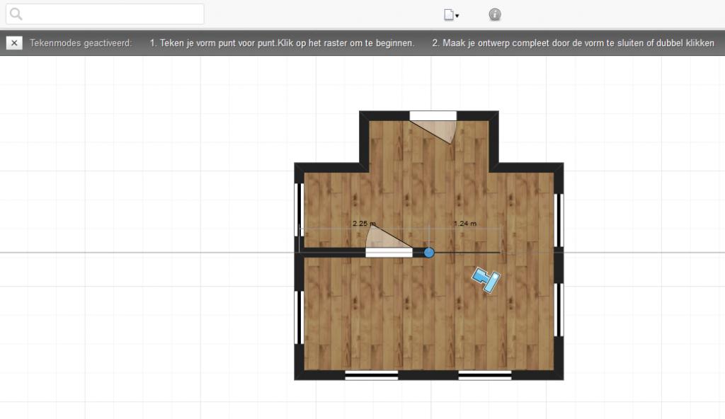 zelf huis inrichten met 3d homeplanner