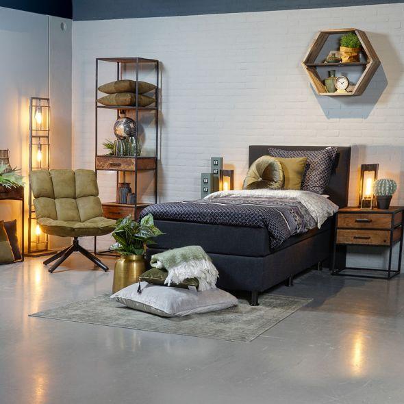 eenpersoonsbed slaapkamer
