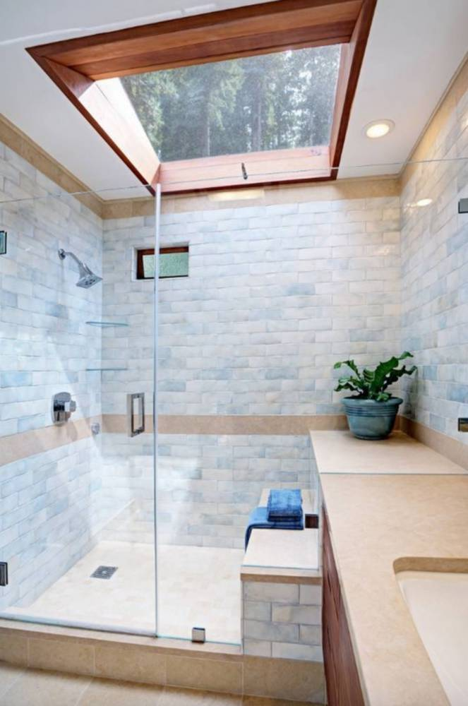 mooie badkamer lichtkoepel