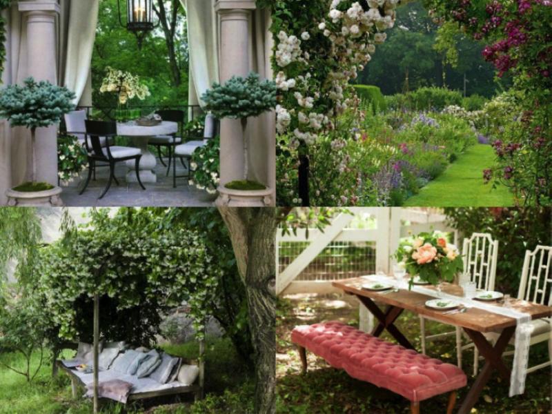 tuin romantisch