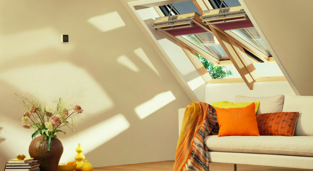 natuurlijk licht in huis in woonkamer