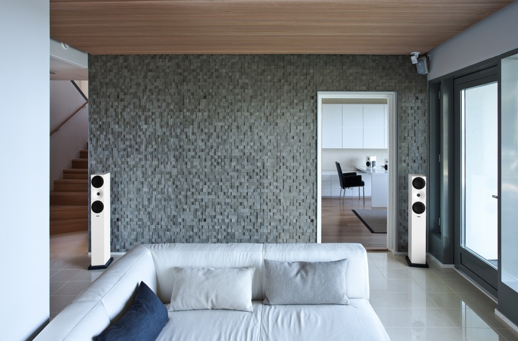 thuis muziek installatie