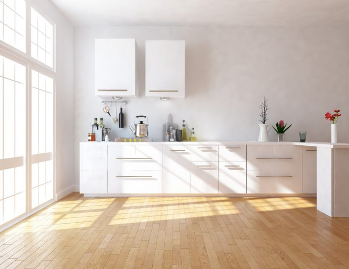Licht in de keuken