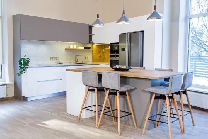 Lichte kleuren keuken