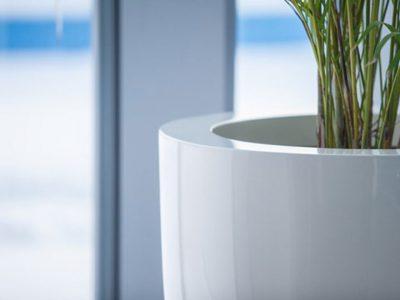 polyester plantenbak binnen