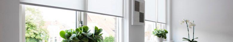 Rolgordijnen raamdecoratie