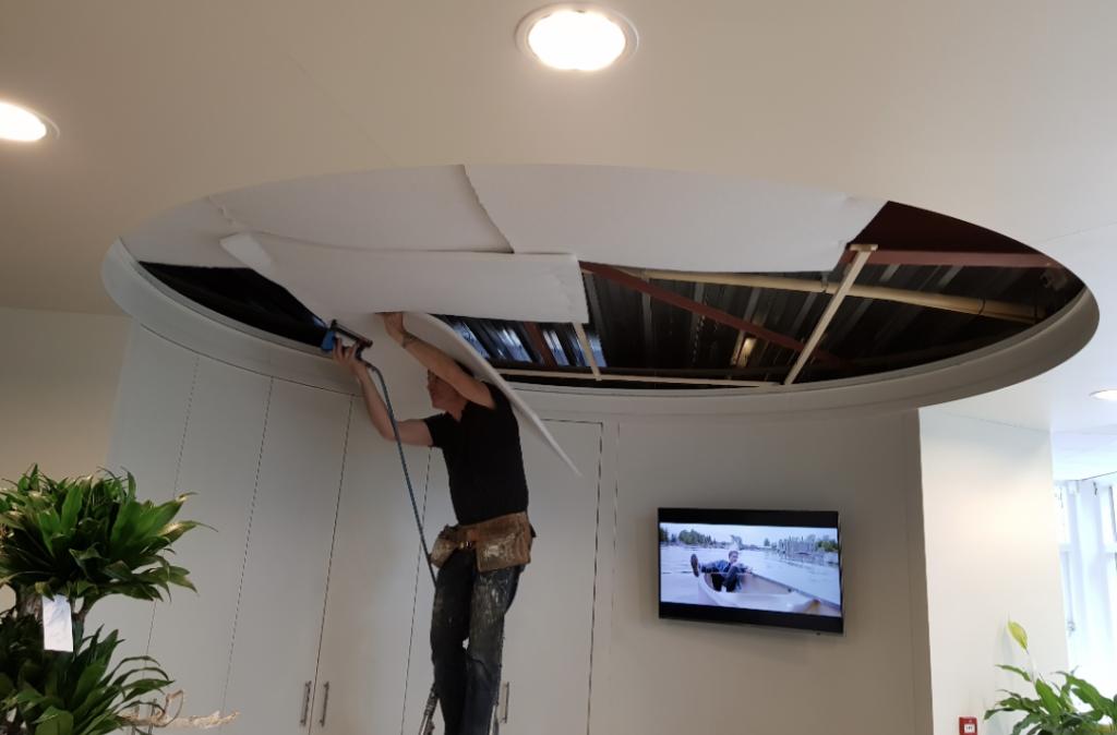 spanplafond monteren