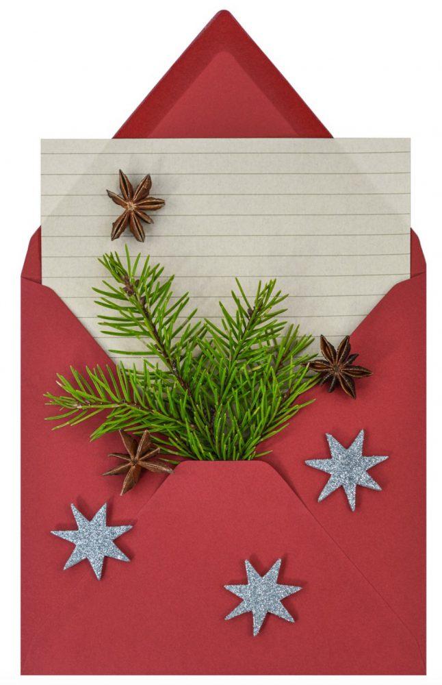 cadeaubon zelf maken kerst