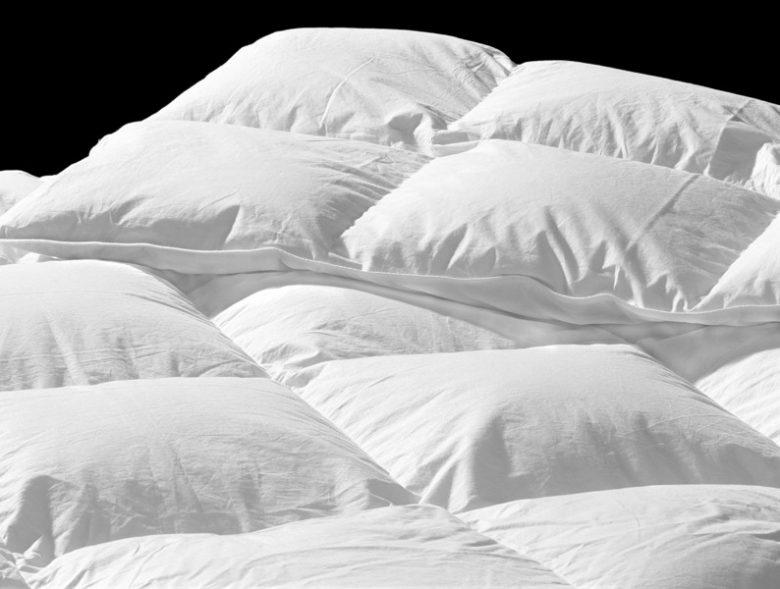 White-duvet dekbed
