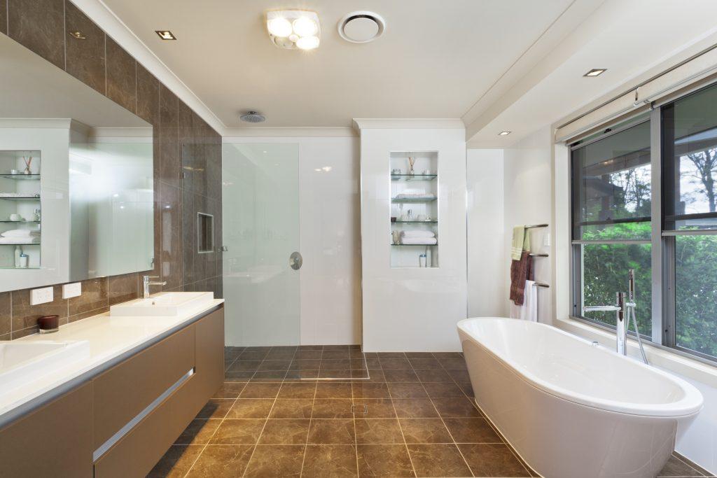 badkamer inrichten douchewand