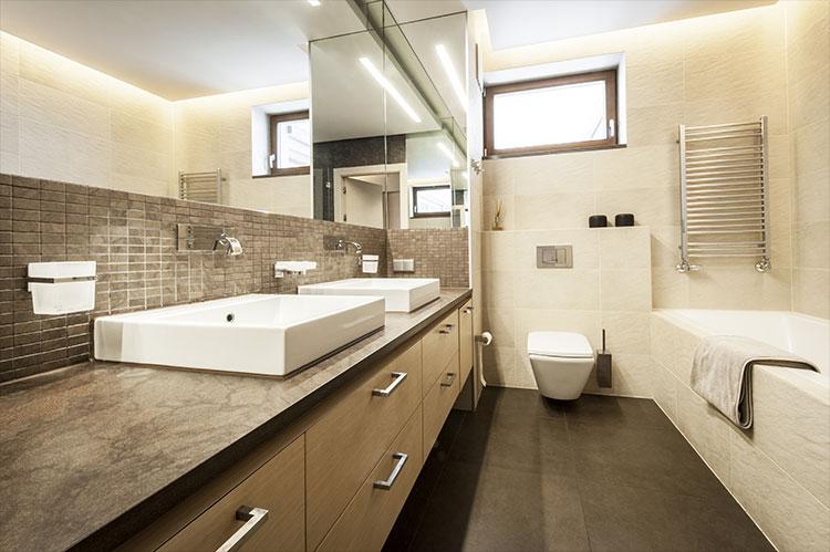 Badkamer: ideeen, foto\'s, voorbeelden en verbouwen