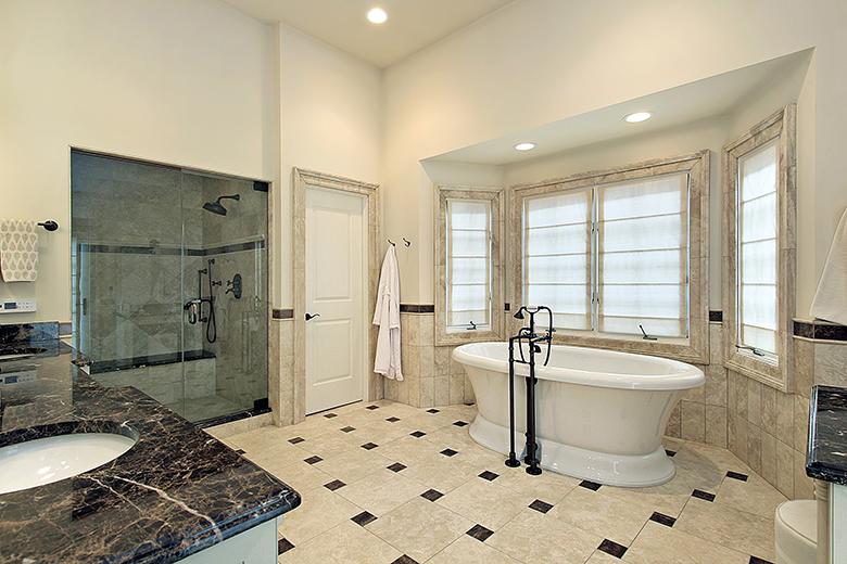 Voorbeelden Van Badkamers : Badkamer voorbeelden zwart wit badkamer foto s