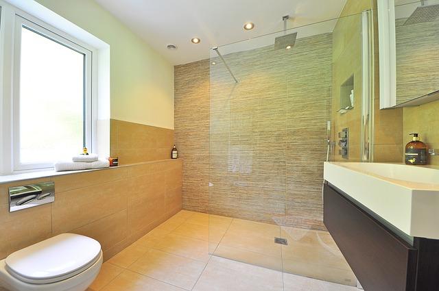 badkamer verbouwen: inloopdouche