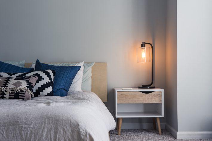 dekbedden in slaapkamer