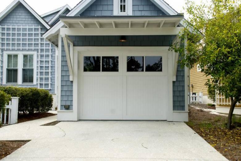 garagedeur wit